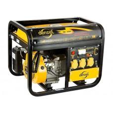Генератор бензиновый DB3500, 3 кВт, 220 В/50Гц, 15 л, ручной пуск. DENZEL