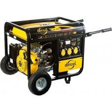 Генератор бензиновый DB7500Е, 7,5 кВт, 220 В/50Гц, 30 л, электростартер. DENZEL