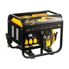 Генератор дизельный DD 2500, 2 кВт, 220 В/50Гц, 12.5 л, ручной пуск. DENZEL