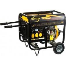 Генератор дизельный DD4000Е, 3 кВт, 220 В/50Гц, 12.5 л, электростартер. DENZEL