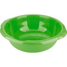 Таз пластмассовый круглый 18 л, зеленый, Россия. ТМ Elfe