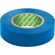 Изолента ПВХ, 15 мм х 10 м, синяя. СИБРТЕХ