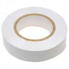 Изолента ПВХ, 15 мм х 10 м, белая. СИБРТЕХ