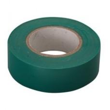 Изолента ПВХ, 15 мм х 10 м, зеленая. СИБРТЕХ