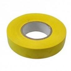Изолента ПВХ, 19 мм х 20 м, желтая. СИБРТЕХ