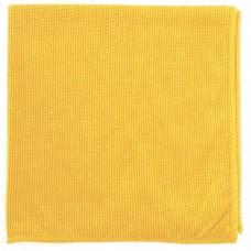 Салфетка из микрофибры жемчужная для бытовой те х ники и мебели желт. 400 х 400 мм. Elfe