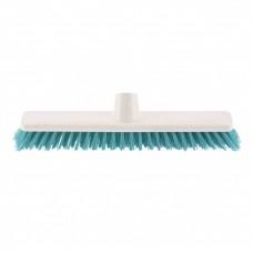 """Щетка пластмассовая """"SHROBER"""" для чистки ковров 270 мм, бирюзовая щетина. Elfe"""