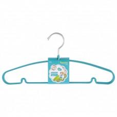 Вешалка для легкой одежды с прорезиненным противоскользящим покрытием 40 см, 5 шт, в комплекте. Elfe