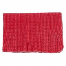 Салфетка для пола х/б красная 500 х 700 мм. Россия. Elfe
