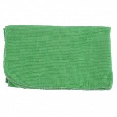 Салфетка для пола х/б зеленая 500 х 700 мм. Россия. Elfe