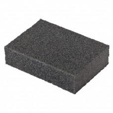 Губка для шлифования, 100 х 70 х 25 мм, мягкая, P 40. MATRIX