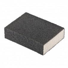 Губка для шлифования, 100 х 70 х 25 мм, средняя плотность, P 100. MATRIX