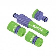 Набор для подключения шланга 3/4, распылитель, 3 адаптера к распылителю. PALISAD