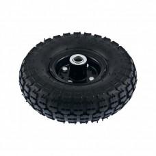 Колесо пневматическое 4.10/3.50-4, колесо D 260 мм. внутренний подшипник D 20 мм, длина оси 50 мм. PALISAD