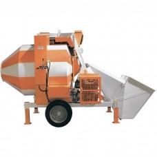 Бетоносмеситель СБР-1200А, дизельный двигатель, 25-30 м3/ч, 1200 л, 15кВт.