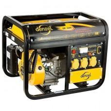 Генератор бензиновый DB2500, 2,2 кВт, 220 В/50Гц, 15 л, ручной пуск. DENZEL