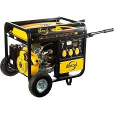 Генератор бензиновый DB5000Е, 4,5 кВт, 220 В/50Гц, 25 л, электростартер. DENZEL