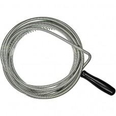 Трос для прочистки труб, L-3 м, D 6 мм. СИБРТЕХ
