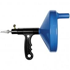Трос для прочистки труб, L-3,3 м, D 6 мм, пластмассовый корпус. СИБРТЕХ