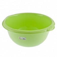 Таз пластмассовый круглый 16 л, зеленый, Россия. Elfe