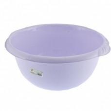 Таз пластмассовый круглый 18 л, фиолетовый, Россия. Elfe