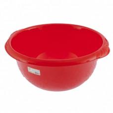 Таз пластмассовый круглый 18 л, красный, Россия. Elfe