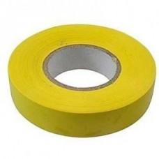 Изолента ПВХ, 15 мм х 10 м, желтая. СИБРТЕХ