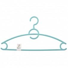 Вешалка пластиковая для верхней одежды 43 см, цветная. Elfe