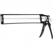 """Пистолет для герметика, 310 мл, """"скелетный"""", усиленный с фиксатором, шестигранный шток 7 мм. SPARTA"""