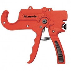 Ножницы для резки изделий из ПВХ, пистолетного типа, D до 36 мм, обрезиненная опорная рукоятка, порошковое покрытие. MATRIX