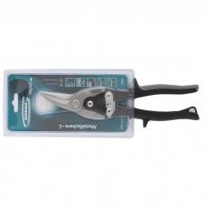 """Ножницы по металлу """"PIRANHA"""", 250 мм, прямой и левый рез, сталь СrMo, двухкомпонентные рукоятки. GROSS"""