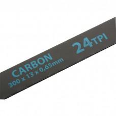 Полотна для ножовки по металлу, 300 мм, 24 TPI, Carbon, 2 шт, GROSS