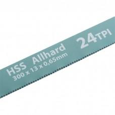 Полотна для ножовки по металлу, 300 мм, 24 TPI, HSS, 2 шт, GROSS