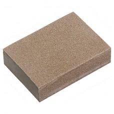Губка для шлифования, 100 х 70 х 25 мм, мягкая, 3 шт, P 60/80, P 60/100, P 80/120. MATRIX