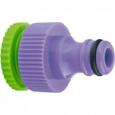 Адаптер пластмассовый, 1/2-3/4, внутренняя резьба. PALISAD
