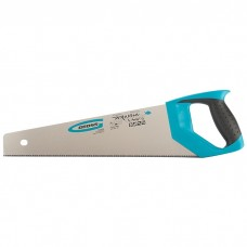 "Ножовка по дереву ""PIRANHA"", 400 мм, 11-12 TPI, зуб-3D, каленый зуб, двухкомпонентная рукоятка. GROSS"
