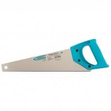 """Ножовка для работы с ламинатом """"PIRANHA"""", 360 мм, 15-16 TPI, зуб 2D, каленый зуб, пласт.рук-ка. GROSS"""