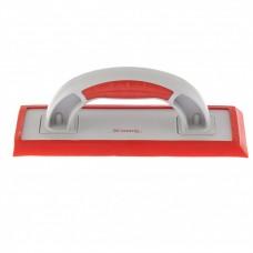 Терка пластмассовая для эпоксидной затирки, сменное резиновое покрытие, 250 x 95 мм, двухкомпонентная ручка. MATRIX