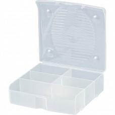 Блок для мелочей, 14 x 13 см, прозрачный матовый. СИБРТЕХ