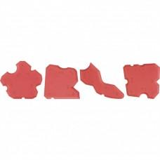 Набор эластичных шпателей для формирования швов, 4 предмета. MATRIX