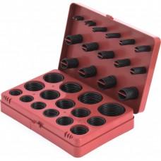 Набор резиновых уплотнительных прокладок, D 7-53 мм, 404 предмета. СИБРТЕХ