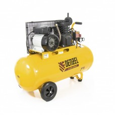 Компрессор воздушный PC 2/100-400, Х-PRO, ременный, 2,3 кВт, 400 л/мин, 100 л, 10 бар DENZEL