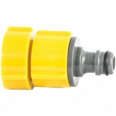 Адаптер пластмассовый, 1/2-3/4-1, внутренняя резьба, LUXE. PALISAD