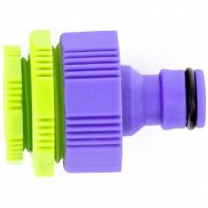 Адаптер пластмассовый, 1/2-3/4-1, внутренняя резьба. PALISAD