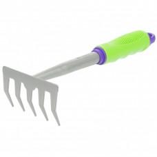 Грабли пятизубые, 115 x 280 мм, обрез. рукоятка, может использ. в сборе с ручкой 63016, 63017. PALISAD