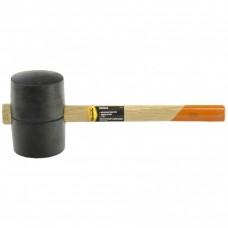 Киянка резиновая, 1130 г, черная резина, деревянная рукоятка. SPARTA