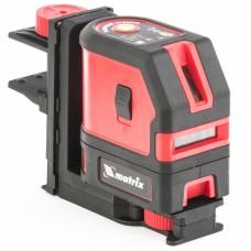 Уровень лазерный ML03, 10 м ± 0,5 мм. /1 м, 635нм, 1 вертикальная, 1 горизонтальная плоскость, подставка магнитная. MATRIX
