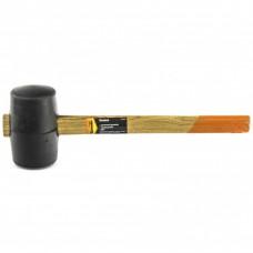 Киянка резиновая, 680 г, черная резина, деревянная рукоятка. SPARTA