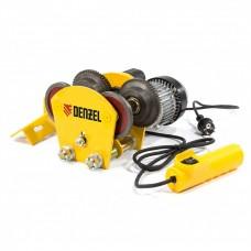 Каретка электрическая для тельфера Т-1000,1 т, 540 Вт. DENZEL