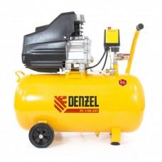Компрессор пневматический, 1,5 кВт, 206 л/мин, 50 л. DENZEL